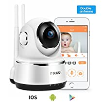 FREDI 720P IP Telecamera di Sorveglianza Wireless Camera Wifi