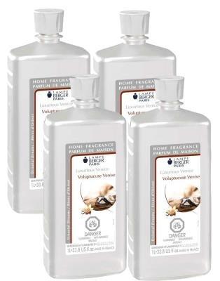 CASE OF 4 - LUXURIOUS VENICE Lampe Berger Liter Parfum de Maison Lamp Perfume