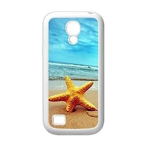 Beach Starfish Rubber Cell Cover Case for SamSung Galaxy S4 Mini i9192/i9198 hjbrhga1544