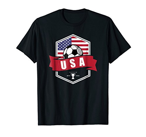 USA Soccer Team T Shirt American Patriotic Fan Player Cup – DiZiSports Store