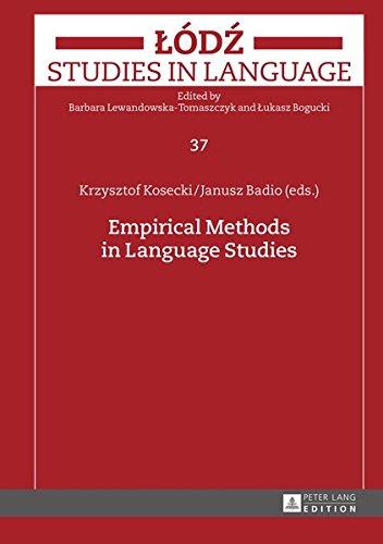 Empirical Methods in Language Studies (Lodz Studies in Language) ebook