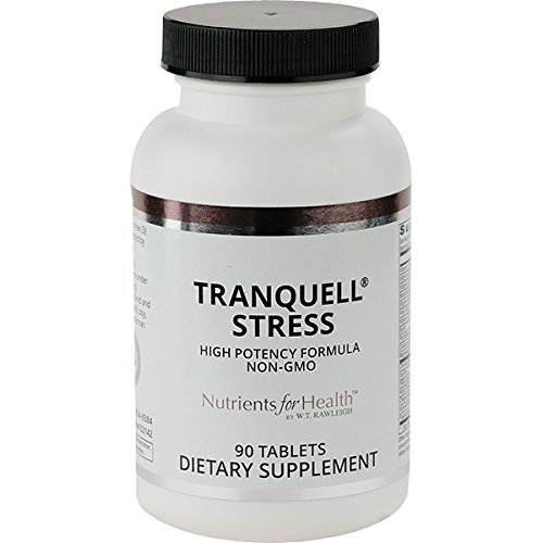 Anxiety Relief Supplement - Tranquell Stress - 90 Tablets - Nutrients for Health by WT ()