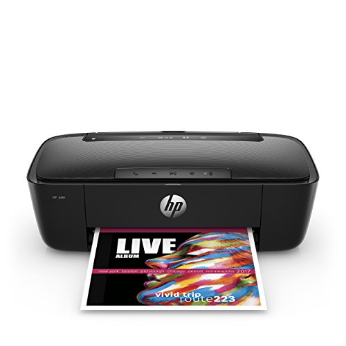 HP DeskJet 3755 Compact All-in-One Photo Printer with Wireless & Mobile Printing, Instant Ink ready – Stone Accent (J9V91A)