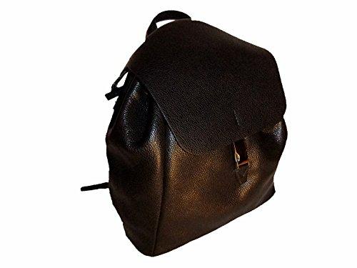 Gianni Chiarini Damen Cityrucksack Leder ZN 5451 schwarz