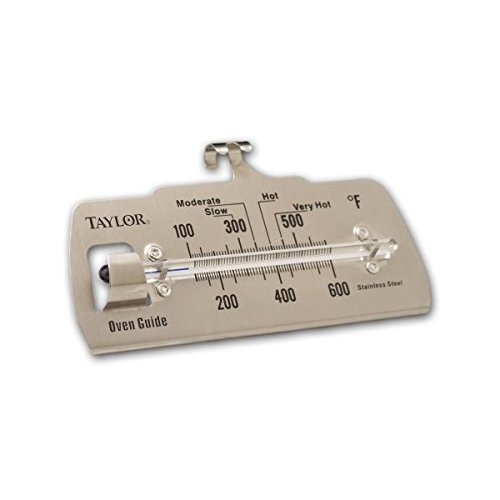 Taylor Oven Thermometer 100 - 600 Deg F 4-7/8'' X 2-1/4'' by taylor