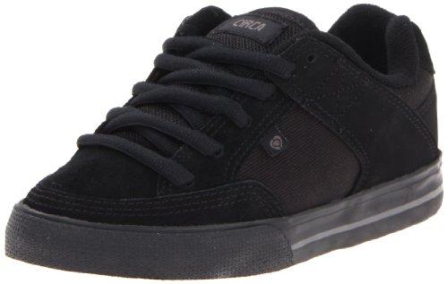 (C1RCA 205 Vulcanized Skate Shoe (Toddler/Little Kid/Big Kid),All Black/Dark Gull,1 M US Little Kid)