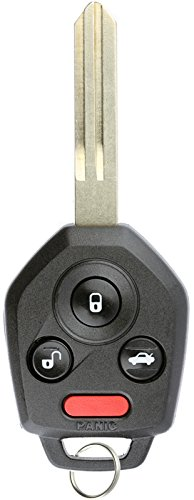 - KeylessOption Keyless Entry Remote Car Key Fob Blank Uncut Chip Ignition for Impreza WXR STI Forester CWTWB1U811