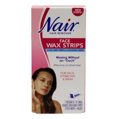 Buy Nair Nair Face Wax Strips 3 Units Online At Low Prices In