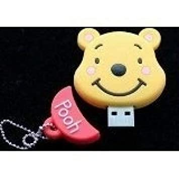 Amazon.com: 8 GB Winnie the Pooh Shaped Cute Cartoon USB ...