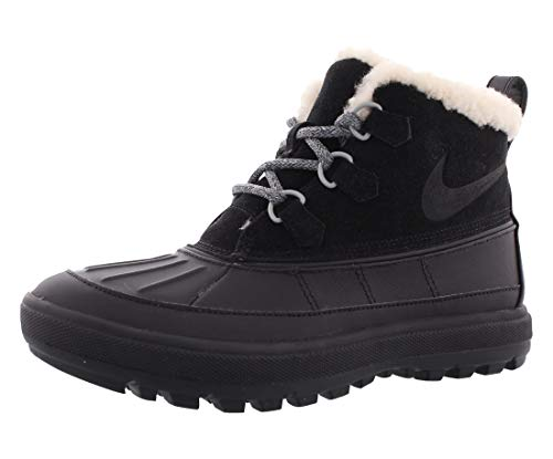 Nike Woodside Chukka 2 Casual Women's Shoes Size 8 Black/Anthracite (Womens Nike Snow Boots)