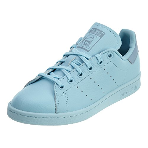 brand new 970f9 76fe2 adidas Originals Boys' Stan Smith J Sneaker, Ice Blue/Ice Blue/Tactile  Blue, 6 Medium US Big Kid