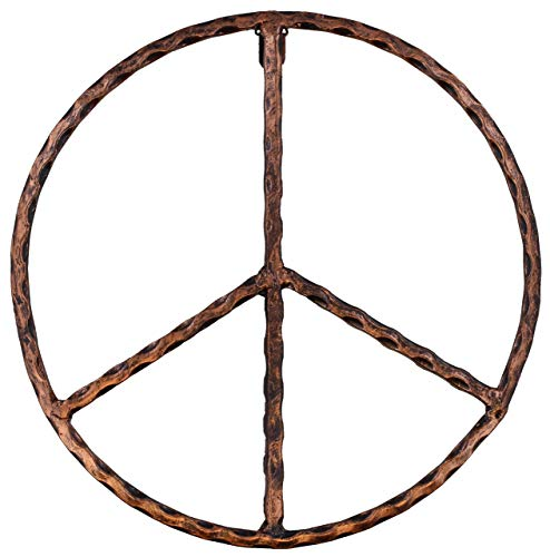 Old River Outdoors Metal Peace Sign Wall Decor Art - 12