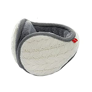 Unisex Winter Knit Outdoor Earmuffs Adjustable Warm Cashmere Ear Wamer