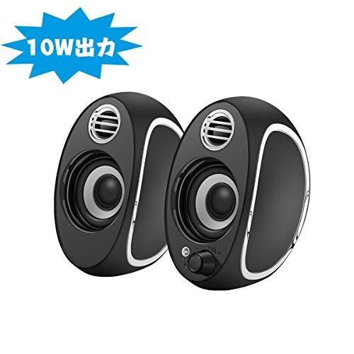 [해외]MIRATN PC 스피커 컴퓨터 고음질 usb 게임 ステレオス 소형 소음 차단 영화 おしやれ / MIRATN PC Speaker PC High Quality High Quality Usb Game Stereos Small Noise Canceling Movie Watching