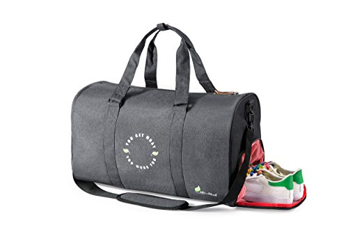 INSPIRATIONAL Travel/Sport Duffel Gym Bag w Shoe Compartment