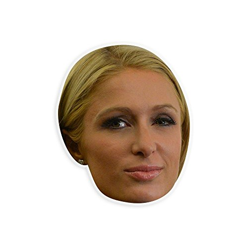 Paris Hilton Halloween Costumes (Neutral Paris Hilton Mask - Perfect for Halloween, Masquerade, Parties, Events, Festivals, Concerts - Jumbo Size Waterproof)