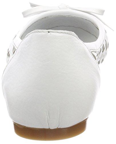 Andrea Dames Conti 0025811 Blanches Ballerines Fermées (blanc)