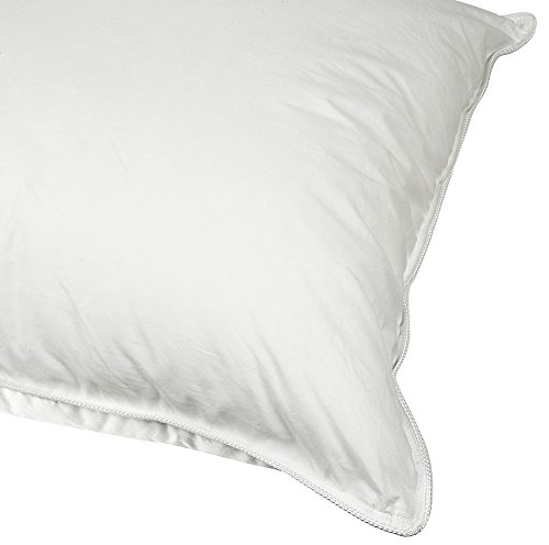luxyfluff sleeping pillow down alternative bed pillow hypoallergenic standard made in usa. Black Bedroom Furniture Sets. Home Design Ideas