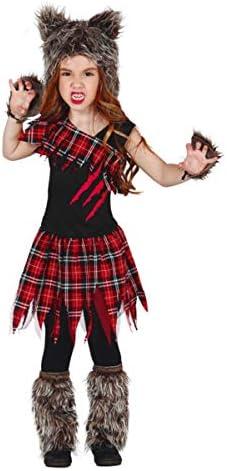 Horror-Shop Disfraz De Niña Lobo Escocesa S: Amazon.es: Juguetes y ...