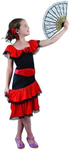Disfraz de flamenco niña - 7 - 9 años: Amazon.es: Juguetes y juegos