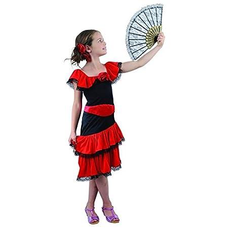 Disfraz de flamenco niña - 4 - 6 años: Amazon.es: Juguetes y juegos