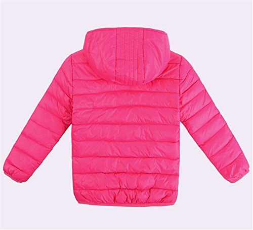 Kids Lightwear Lemonkids® Boys Down Rose Chic Coat Outwear Jacket Winter Hooded AXddwrqnRx