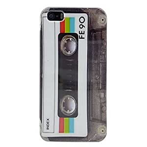 Retro Cassette Tape Glossy Hard Case Cover for iPhone 5/5S