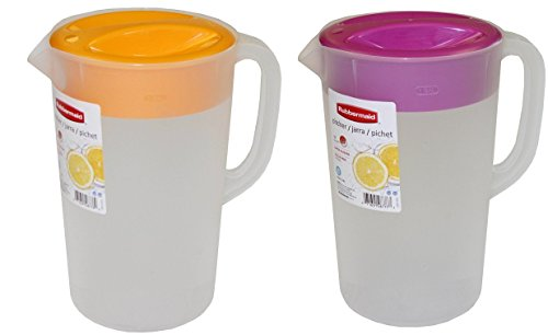 Rubbermaid 1 Gallon Classic Pitcher, Set of 3