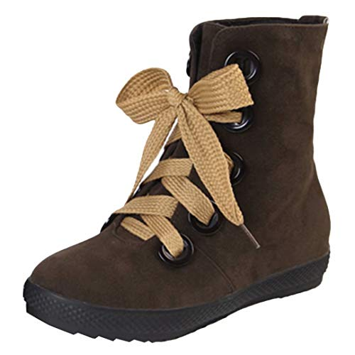AIYOUMEI Women's AIYOUMEI Classic Women's Brown Boot SZTFwSqx