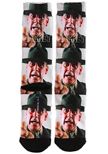 Adult Full Metal Jacket Sergeant Hartman Sublimated Socks - ST
