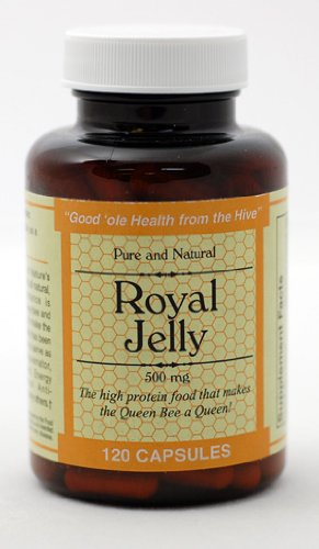 Durham's Royal Jelly 500 mg (120 capsules)