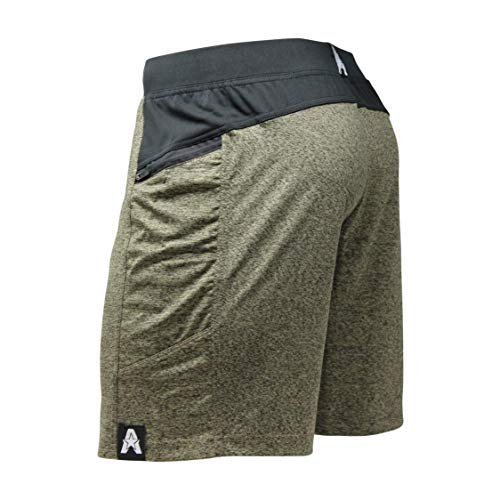 "Anthem Athletics Hyperflex 7"" Crossfit Workout Training Gym Shorts - Iron Army G2 - Small"