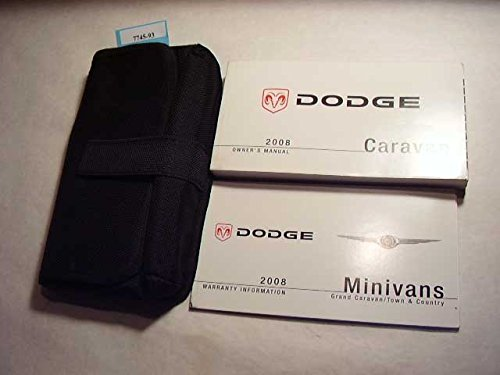 2008 Dodge Caravan Owners Manual