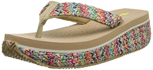 Very Natural Wedge Women's Volatile Rainboom Sandal rYwF4YX1qx