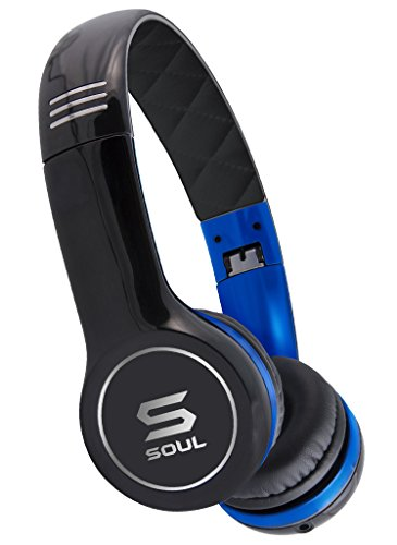 SOUL by Ludacris SL100UB Ultra Dynamic On-Ear Headphones (Discontinued by Manufacturer) (Renewed)