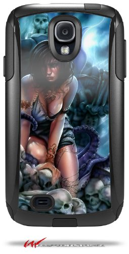 Bride of Cthulhu - Decal Style Vinyl Skin fits Otterbox Commuter Case for Samsung Galaxy S4 - (CASE NOT INCLUDED)