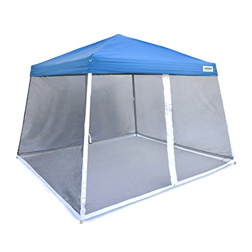 Caravan Canopy Sports V-Series Slant Mesh Wall Enclosure Kit, 12