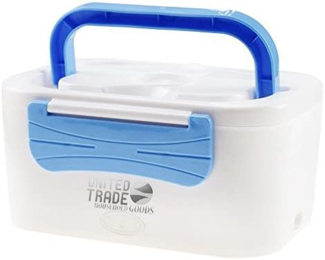 Caja térmica de transporte de alimentos con calentador eléctrico: Amazon.es: Hogar
