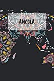 Angola: Ruled Travel Diary Notebook or Journey  Journal - Lined Trip Pocketbook for Men and Women with Lines