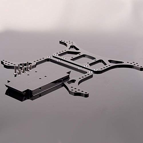 - Aluminum Rock Racer Conversion Chassis N10211 for RC 1/10 Axial AX10 Scorpion Black