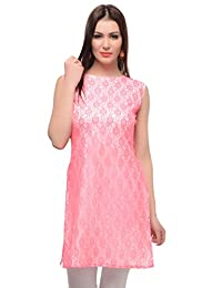 Maple Clothing Indian Sleeveless Kurti Long Tunic Top Womens Party Wear