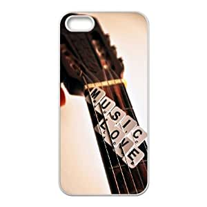 CHENGUOHONG Phone CaseLove Guitar,Love Music For Apple Iphone 5 5S Cases -PATTERN-8
