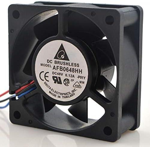 HaoChenEA for Delta AFB0648HH 3Pin 48V 0.12A 6025 6CM Cooling Fan
