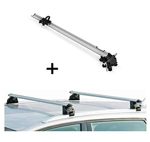 K39 VDPKING1 Roof Rack Bars Compatible with Volvo XC60 5 Door 14-17