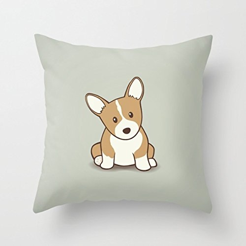 - Bestseason 16 X 16 Inches / 40 By 40 Cm Dogs Pillow Covers,2 Sides Is Fit For Living Room,divan,lounge,girls,wedding,office