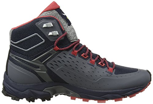 Gore Salewa Mineral Night Chaussures Black Noir Tex 4 Red Red de 3992 5 Randonnée Mineral Femme UK WS Mid Hautes Alpenrose Ultra Black Night rqwf4Iq