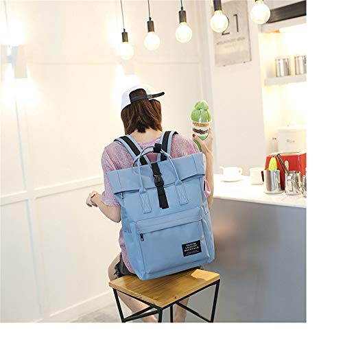 Amazon.com: Women External USB Charge Backpack Canvas Backpack Male ...