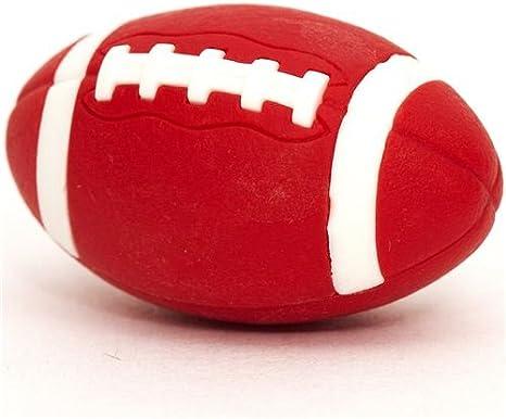 Goma de borrar, balón rojo de fútbol americano: Amazon.es ...