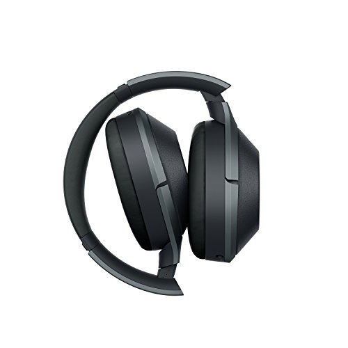 Sony Noise Cancelling Headphones WH1000XM2: Over Ear Wireless Bluetooth Headphones with Case - Black by Sony (Image #7)