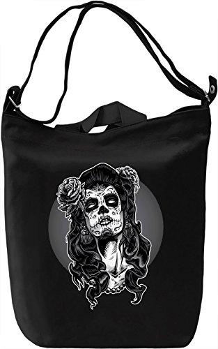 Gothic Girl Borsa Giornaliera Canvas Canvas Day Bag  100% Premium Cotton Canvas  DTG Printing 